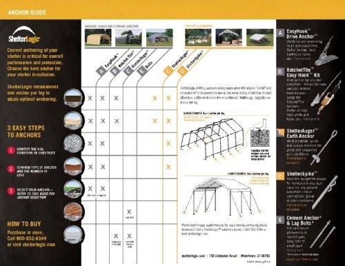 ShelterLogic-Super-Max-Aluminium-Pavillon-Unterstand-berdachung-Wei-550x610x340-cm-LxBxH-Unterstand-Pavillon