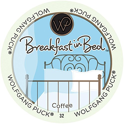Wolfgang Puck Coffee, Breakfast in Bed (Medium Roast),  24-Count K-Cups for Keurig Brewers (K Cup Coffee Medium Roast compare prices)