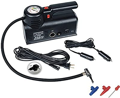 Kensun Portable Travel Multi-Use Air Pump Compressor/Inflator