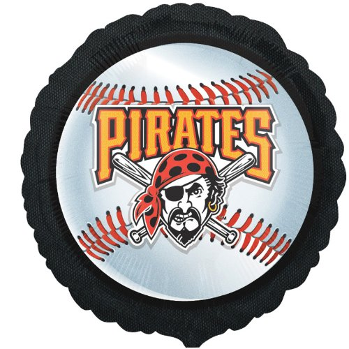 Pittsburgh Pirates Baseball - Foil Balloon Party Accessory