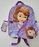 Disney Sofia Toddler Backpack with Detachable Handbag - 12