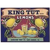 Tut-mania! - King Tut Lemons Poster