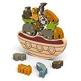 Little fellows(リトルフェローズ) パズル 木製  アニマル 動物 ノアの方舟 バランスボード BAT-I1403 ランキングお取り寄せ