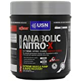 USN Anabolic Nitro-x Pre-Workout Energy Drink Powder Berry - 615 g Comparison-image