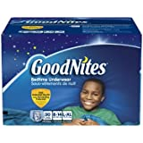 GoodNites Youth Pants for Boys, L\XL, 30 Count