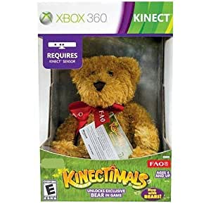 Kinectimals Now With Bears: Bundle with FAO Schwarz Plush Bear [Limited Edition]