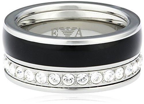 Emporio Armani Damen-Ring Edelstahl Zirkonia weiß Gr.53 (16.9) EGS1440040-7