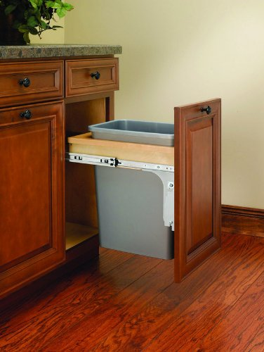 Rev-A-Shelf - 4WCTM-1516DM-1 - 35 Quart Top Mount Waste Container