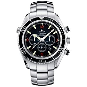 Omega Men's 2210.51.00 Seamaster Planet Ocean Automatic Chronometer Chronograph Watch from Omega