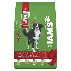 Iams Dog Food Adult Turkey, 3 Kg (Pack of 3)