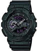 Casio - GA-110MB-1AER - G-Shock - Montre Homme - Quartz Analogique - Digital - Cadran Noir - Bracelet Résine Noir