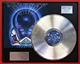 """Journey """"Frontiers"""" Platinum LP Record LTD Edition Award Style Collectible Display"""