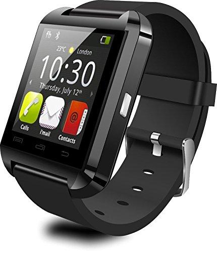Espoir Bluetooth Smart Watch for Smartphones (Black)