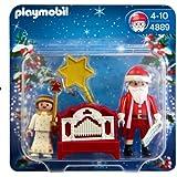 Playmobil 4889 Christmas Father Christmas, Angel and Hand Organ