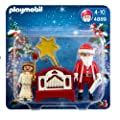 Playmobil 4889 Little Angel and Santa Claus with Hand Organ