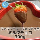 ジョエル ミルクチョコレート 300g チョコレートファウンテン・フォンデュ専用(DM便常温発送)