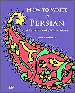 How to write farsi