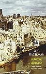 Automne allemand par Dagerman