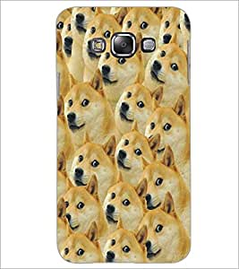 PrintDhaba Dogs D-5337 Back Case Cover for SAMSUNG GALAXY A8 (Multi-Coloured)
