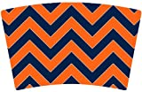 Mugzie® brand Cocktail Shaker with Insulated Wetsuit Cover - Broncos Football Colors Chevron