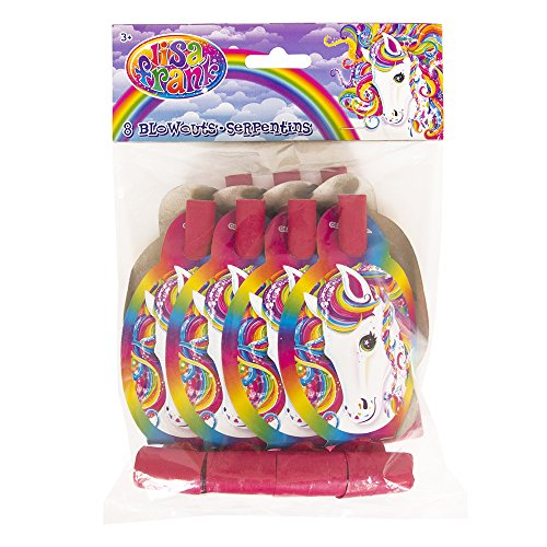 Rainbow Majesty by Lisa Frank Party Blowers, 8ct