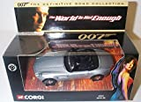 Corgi James Bond The World Is Not Enough BMW Z8 The Definitive Collection 1.36 scale diecast model