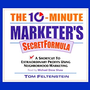 The 10-Minute Marketer's Secret Formula Audiobook