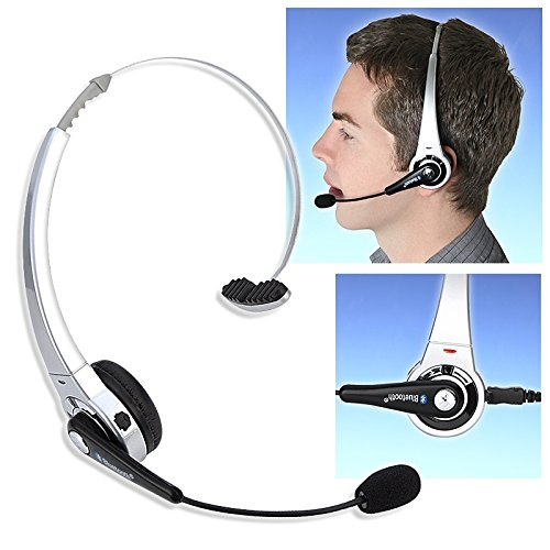 Eforcity® Silver Bluetooth Headset