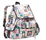 LeSportsac(レスポートサック) リュック VOYAGER BACKPACK WITH CHARM グローバルジャーニー 2375-D212【並行輸入品】