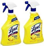 2 Pk, Lysol All-Purpose Cleaner Trigger, Lemon Breeze Scent, 32 Fl. Oz