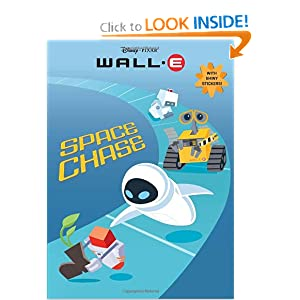 Space Chase Wall-E Hologramatic Sticker Book!