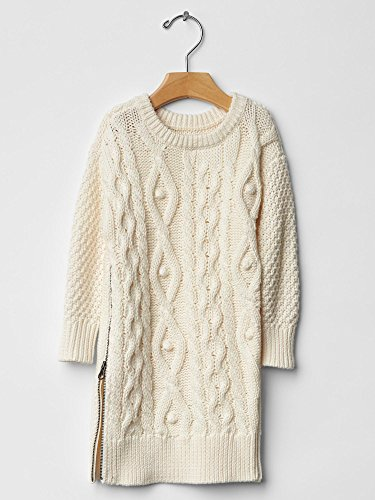 Gap Baby Cable Knit Zip Dress Size 5 Yrs front-921701