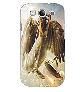 SAMSUNG GALAXY S3 ANGEL GIRL Designer Back Cover Case By PRINTSWAG