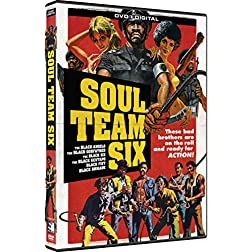 Soul Team Six - 6 Blaxploitation Film Collection - DVD + Digital