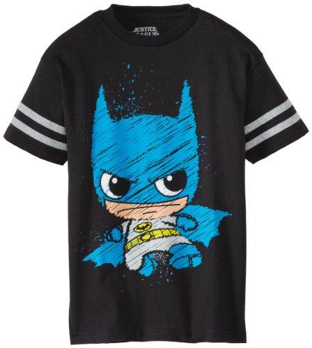 凑单品:DC Comics  DC卡通人物 萌版蝙蝠侠 男宝宝T恤
