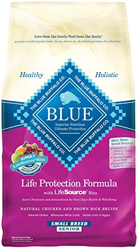 Blue Buffalo Life Protection Formula Small Breed Senior Dog