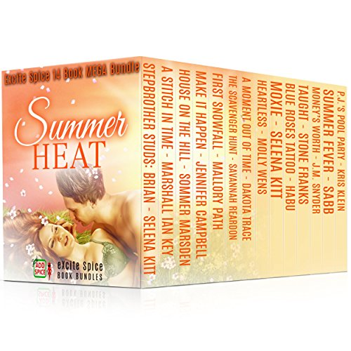Summer Heat: 14 Book MEGA Bundle (Excite Spice Boxed Sets)