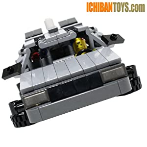 BTTF DeLorean DMC-12 V4.0 - Custom LEGO Model