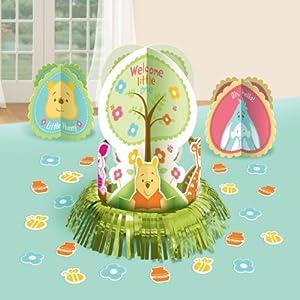 Winnie The Pooh Little Hunny Table Decorating Kit Honey Disney Baby Shower Decor