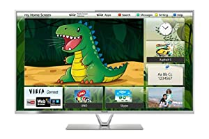 Panasonic TX-L47FT60B 47-inch Widescreen 1080p Full HD LED 3D Smart TV with Freeview HD (discontinued by manufacturer)