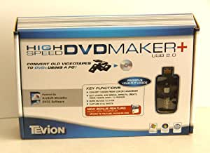 how to use tevion dvd maker