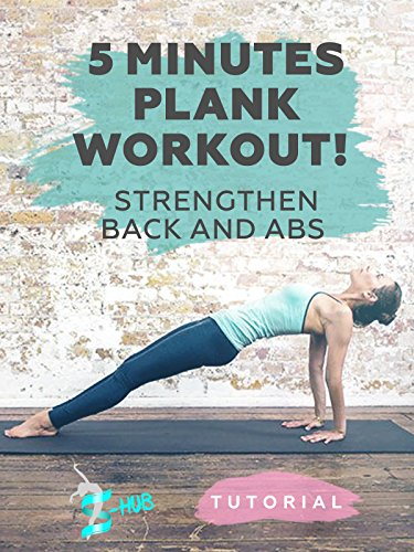 5 Minutes Plank Workout! Strengthen back and abs! on Amazon Prime Instant Video UK