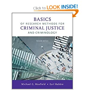 Basics of Research Methods for Criminal Justice and Criminology download