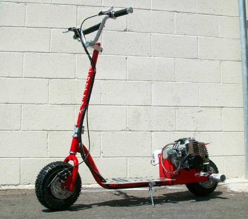 ScooterX Dirt Dog 49cc Gas Scooter * Can ride doubles and do stunts