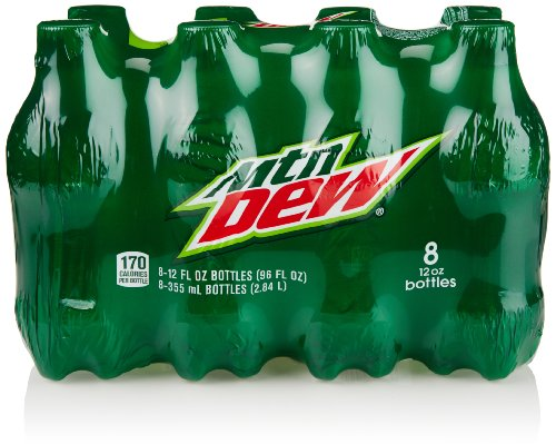 Mountain Dew Bottle (8 Count, 12 Fl Oz Each)