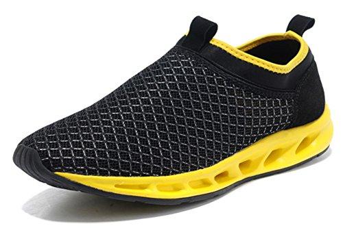 clignote chaussure de l'été de hommes /chaussures de loisirs de sport/Chaussures de maille/ Respirante chaussure foot les gens paresseux /Sandales pour hommes