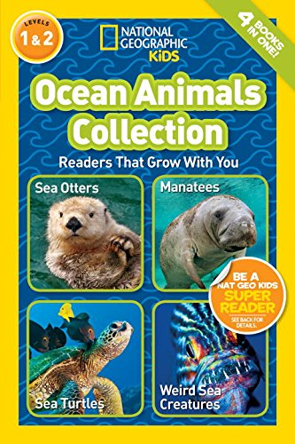National Geographic Readers: Ocean Animals Collection (National Geographic Kids, Leve 1 & 2)