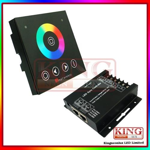Dreamcolor Rgb Wall Mounting Touch Controller Rgb Remote Rgb Led Strips 12V-24V Dc