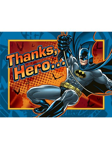 Batman Thank-You Notes - 8/Pkg. - 1