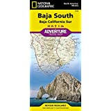 Baja South: Baja California Sur [Mexico] (National Geographic Adventure Map)